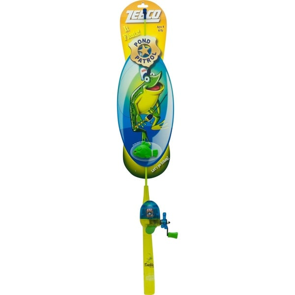 Zebco Pond Patrol Kids Floating Combo Freddy the Frog