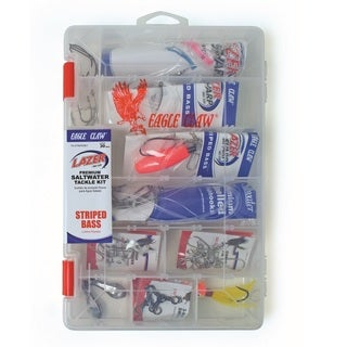 Eagle Claw Striped Bass Saltwater Tackle Kit