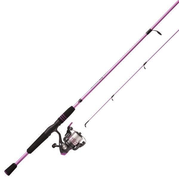 Zebco Ladies Quick Cast Size 30 2PC Rod 10-foot Med