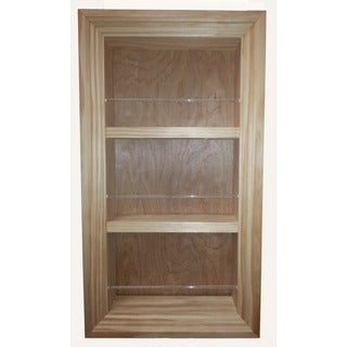 21-inch Holbrook Square Frame in The Wall Spice Rack (15.5 inches wide x 5.5 inches deep)