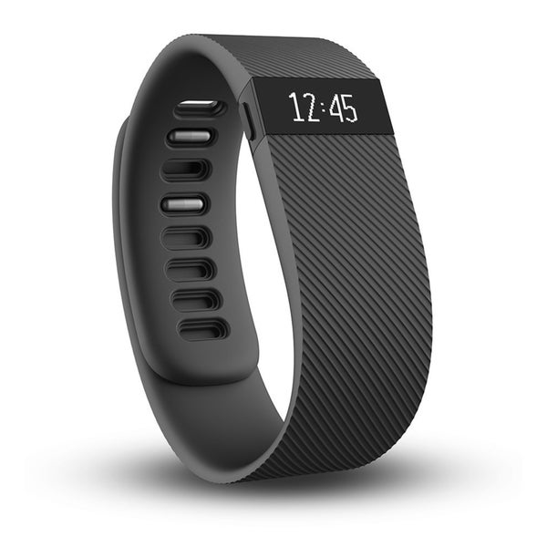 Fitbit Charge Wireless Activity Wristband, Large (Black)