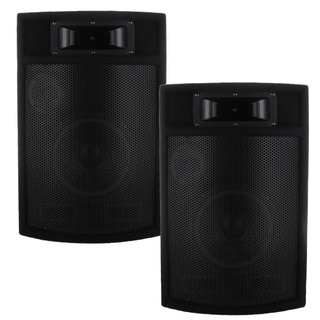 Acoustic Audio PA380X 1200-watt 8-inch 3-way Pro PA DJ Studio Monitor Speakers