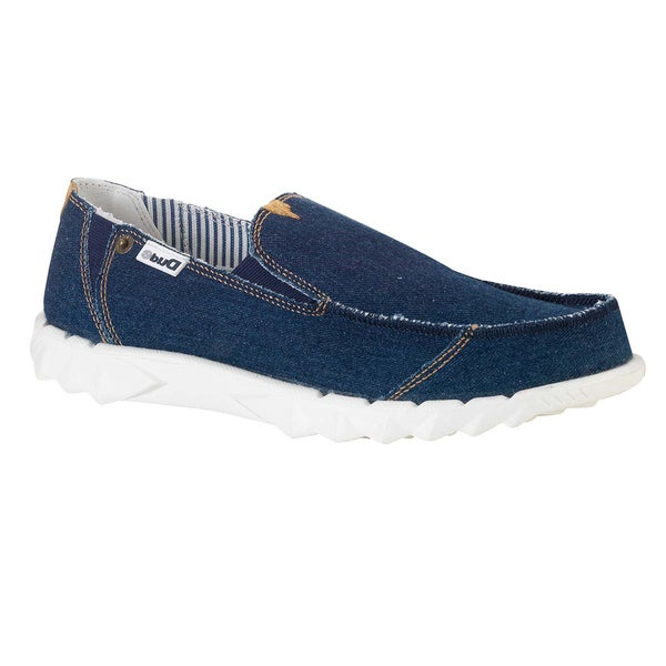 Hey Dude Men's 'Farly' Denim Blue Slip On Shoes