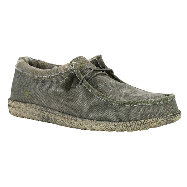 Hey Dude Men's 'Wally' Sage/ Camo Shoes