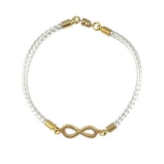 Bella Firenze Cubic Zirconia Infinity Link Bracelet