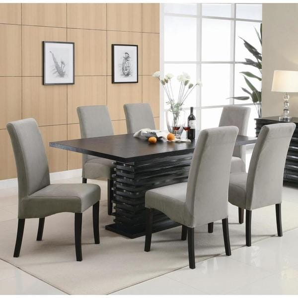 Palisades Dining 7 piece Dining Set Grey