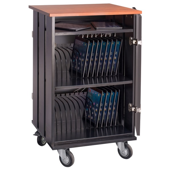 Tablet Charging and Storage Cart (32 Tablet Capacity)