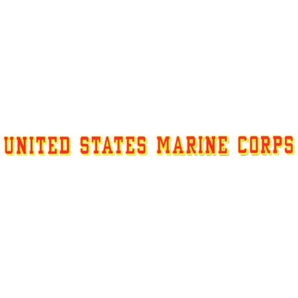 United States Marine Corps Car Decal 16481649