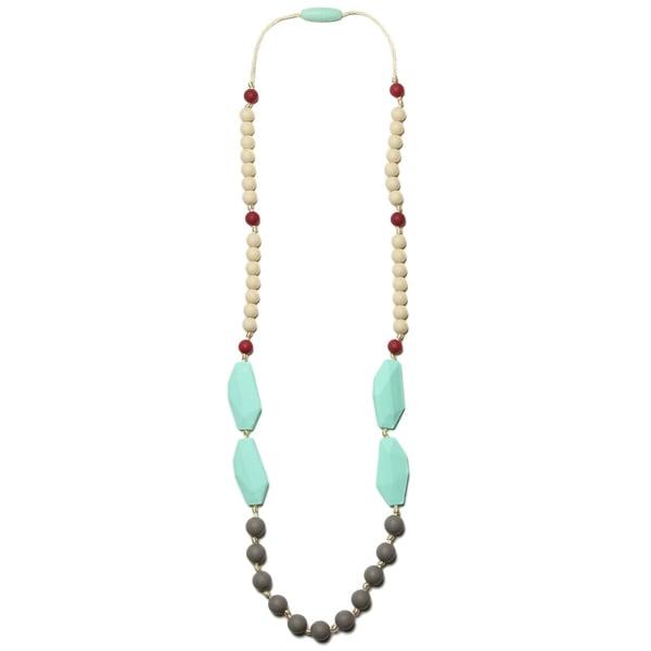 Silicone Teething Necklace for Mom Frida Nursing Necklace