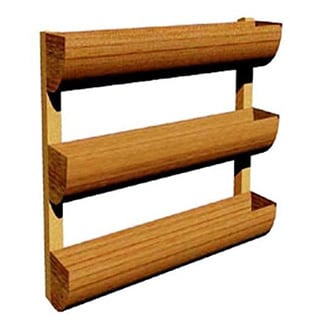 City Garden Wall Planter, 3 Shelves