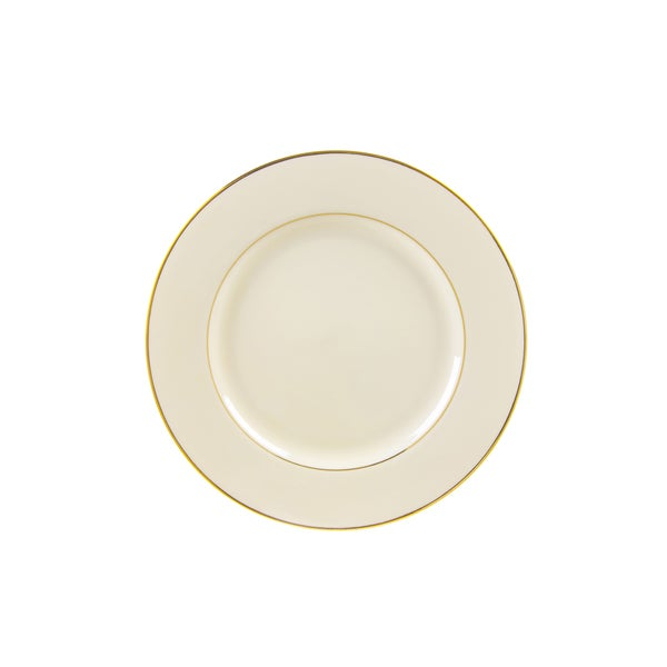 10 Strawberry Street Cream Double Gold Bread and Butter Plate (Set of 6) 16482998