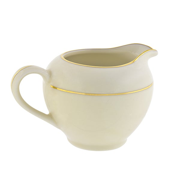 10 Strawberry Street Cream Double Gold Creamer 16483003