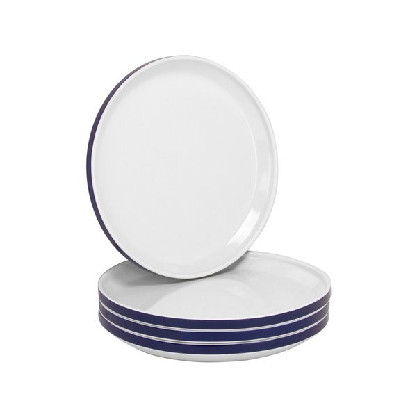 Felix 7.75-inch Side Plate Blue (Set of 4)
