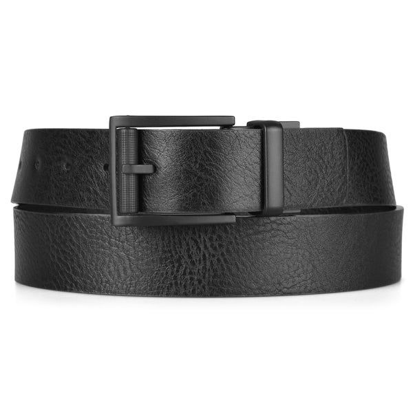 Vance Co. Men's Genuine Leather Reversible Belt
