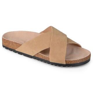 Journee Collection Women's 'Rosie' Comfort Sole Strappy Sandals