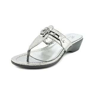 Marc Fisher Women's 'Amina 3' Synthetic Sandals