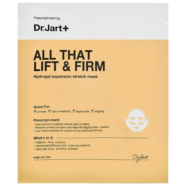 Dr. Jart+ All That Lift & Firm Hydrogel Expansion Stretch Mask (Pack of 5)