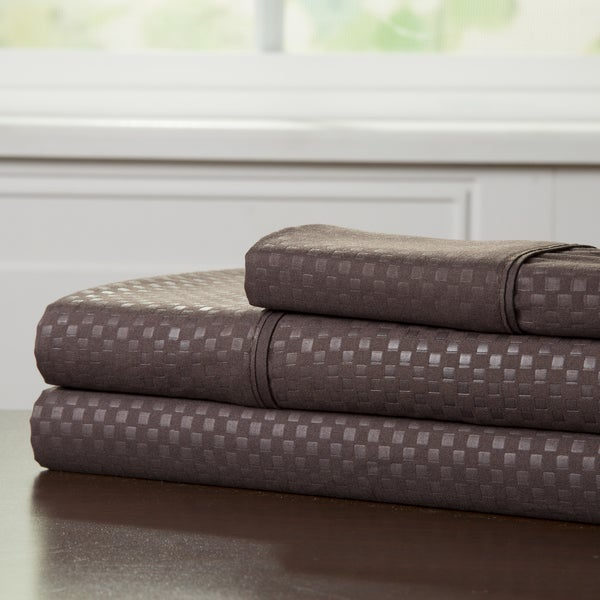 Windsor Home 90 GSM Embossed Sheet Set