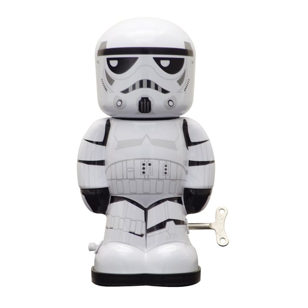 Schylling Star Wars Storm Trooper Wind Up Figure 16484521