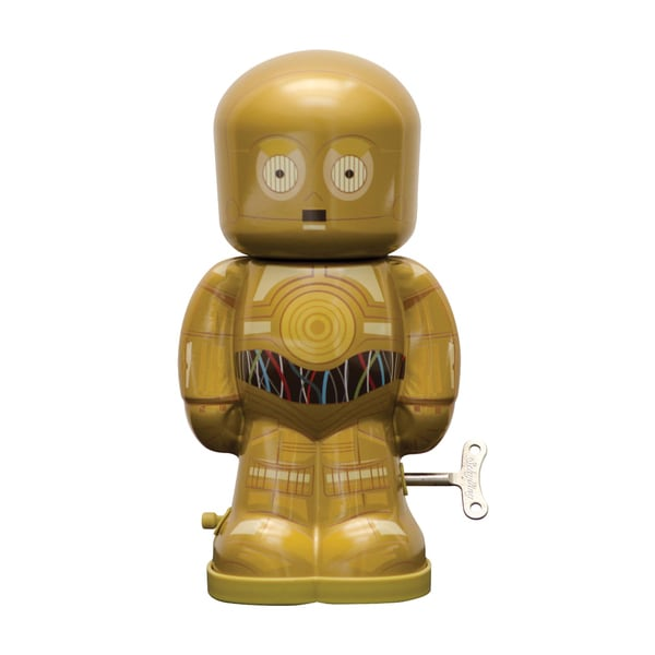 Schylling Star Wars C3PO Wind Up Figure 16484523