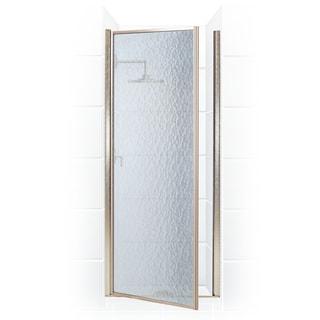 Legend Series 33.25-inch to 34.75-inch x 68-inch Framed Hinge Shower Door