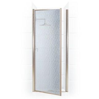 Legend Series 35.25-inch to 36.75-inch x 64-inch Framed Hinge Shower Door