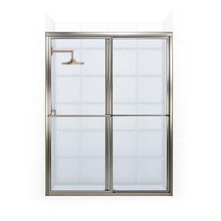 Newport Series 54-inch x 70-inch Framed Sliding Shower Door with Towel Bar