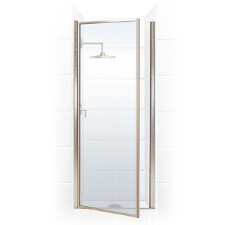 Legend Series 30.25-inch to 31.75-inch x 68-inch Framed Hinge Shower Door