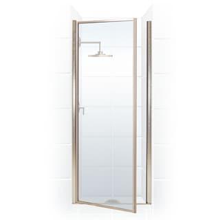 Legend Series 32.25-inch to 33.75-inch x 68-inch Framed Hinge Shower Door