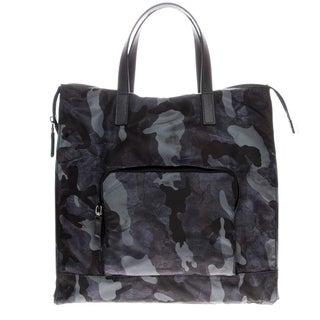 Prada Tessuto Camouflage Zip Tote Bag