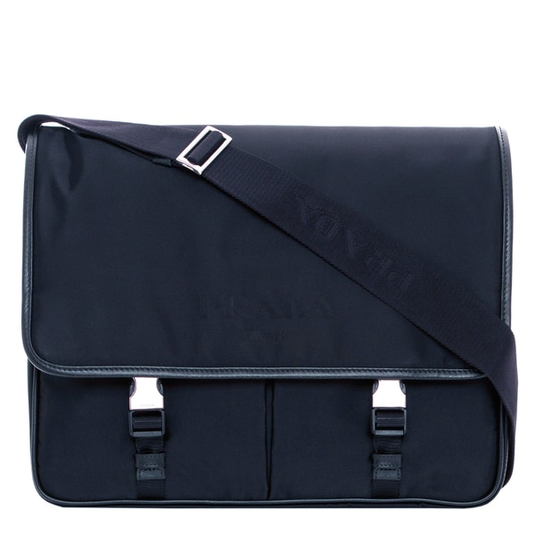 Prada Nylon Flap Shoulder Bag