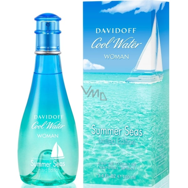 Davidoff Cool Water Summer Seas Limited Edition Women's 3.4-ounce Eau de Toilette Spray