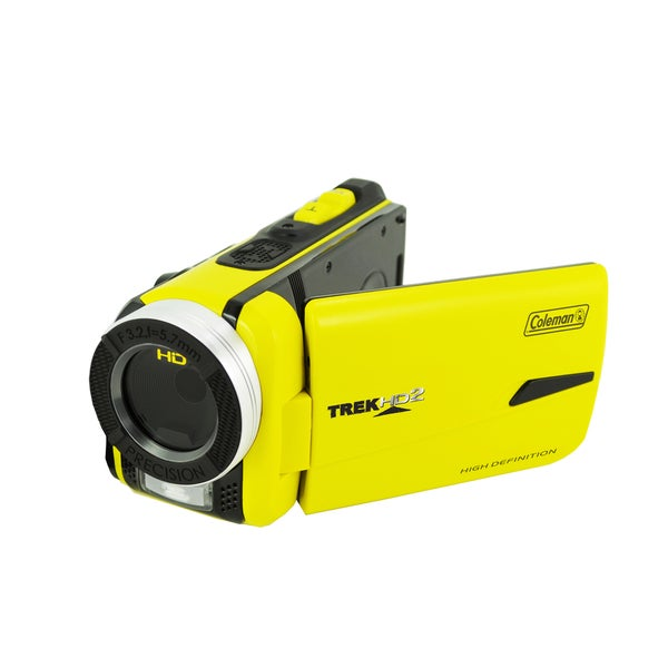 Coleman TrekHD2 CVW20HD-Y 1080p Full HD Underwater Waterproof Video Camcorder plus 8GB SD Card