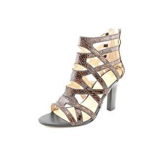 Marc Fisher Women's 'Leana 2' Animal Print Sandals