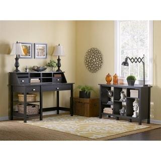 Bush Furniture Broadview Open Storage Desk, Organizer and 6-cube Bookcase