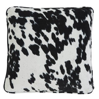 Signature Design by Ashley Cowhide Patterned Natural 20-inch Throw Pillow