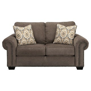 Signature Design by Ashley Emelen Alloy Loveseat