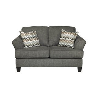 Signature Design by Ashley Gayler Steel Loveseat