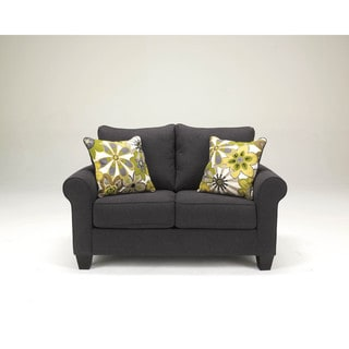 Signature Design by Ashley Nolana Charcoal Loveseat