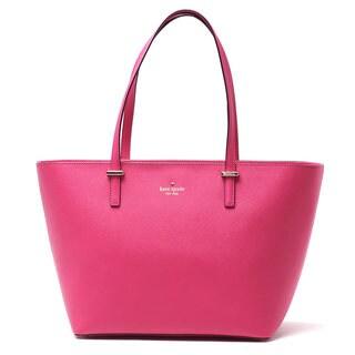 Kate Spade New York 'Cedar Street Small Harmony' Saffiano Leather Sweetheart Pink Tote Handbag