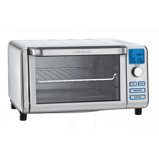 Cuisinart TOB-100FR Compact Digital Toaster Oven Broiler (Refurbished)