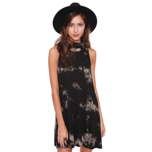 Beston Junior'S Tie Dye Turtle Neck Tunic Dress
