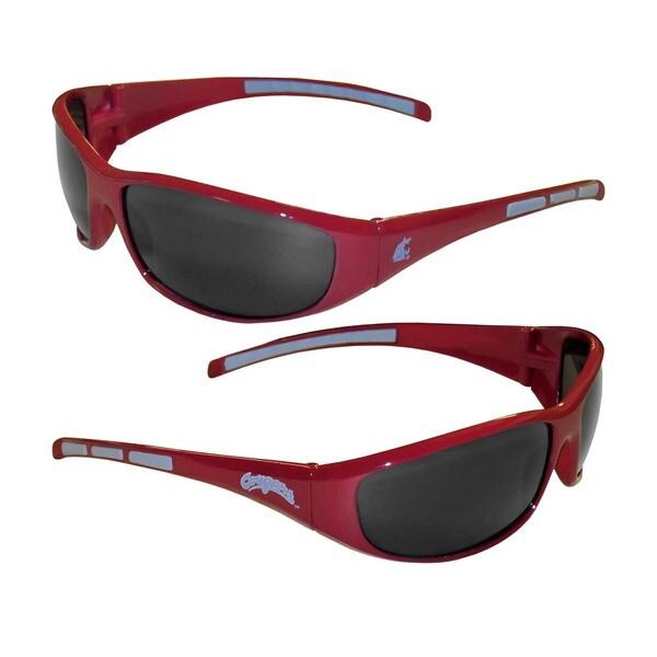 NCAA Washington State Cougars Wrap 3 Dot Sunglasses 16498735