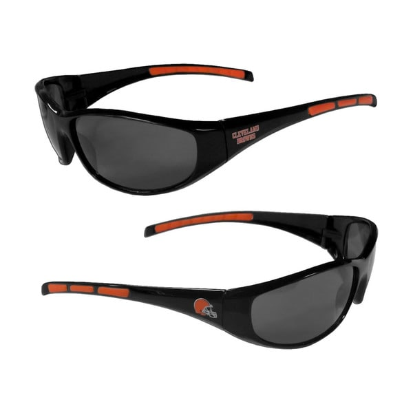 Cleveland Browns NFL Wrap 3 Dot Sunglasses