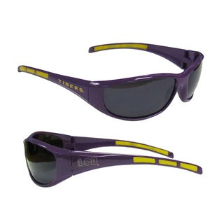 NCAA LSU Tigers Wrap 3 Dot Sunglasses