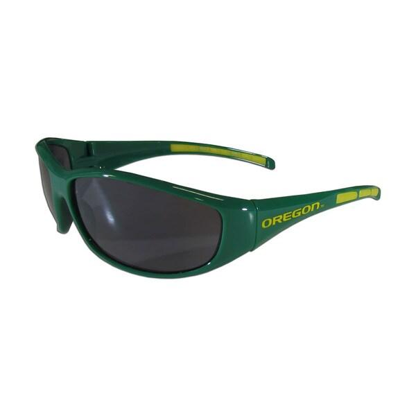 NCAA Oregon Ducks Wrap 3 Dot Sunglasses