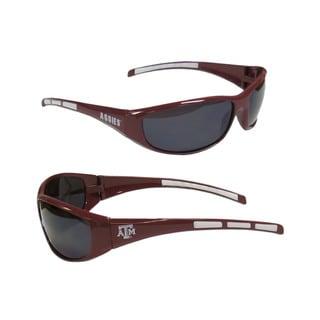NCAA Texas AandM Aggies Wrap 3 Dot Sunglasses