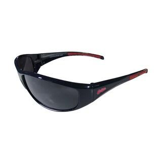 MLB Cleveland Indians Wrap 3 Dot Sunglasses