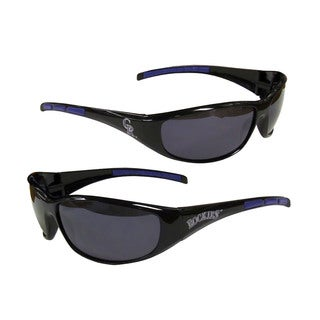 MLB Colorado Rockies Wrap 3 Dot Sunglasses