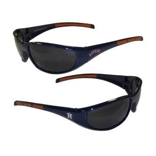 MLB Houston Astros Wrap 3 Dot Sunglasses